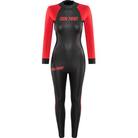 Colting Wetsuits Open Sea Wetsuit Dame black/red